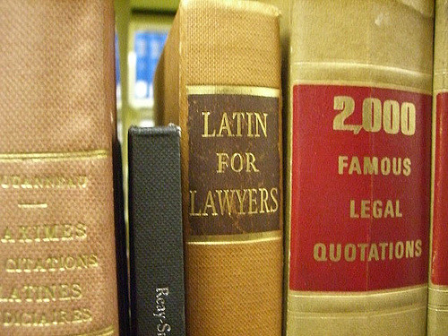 Latin for Lawyers book
