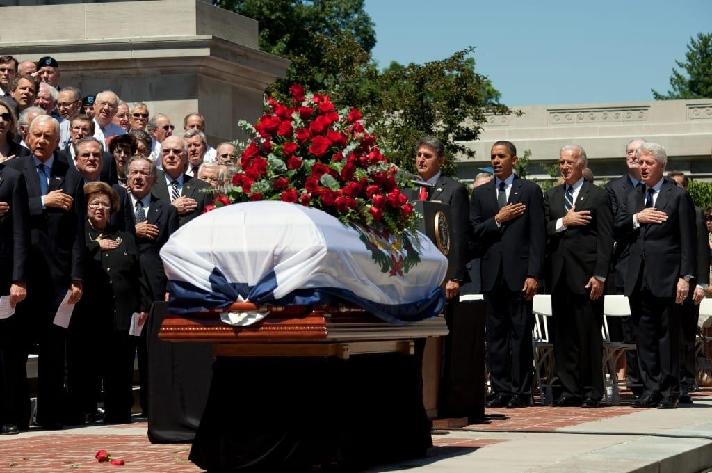 Senator Robert C. Byrd Memorial service