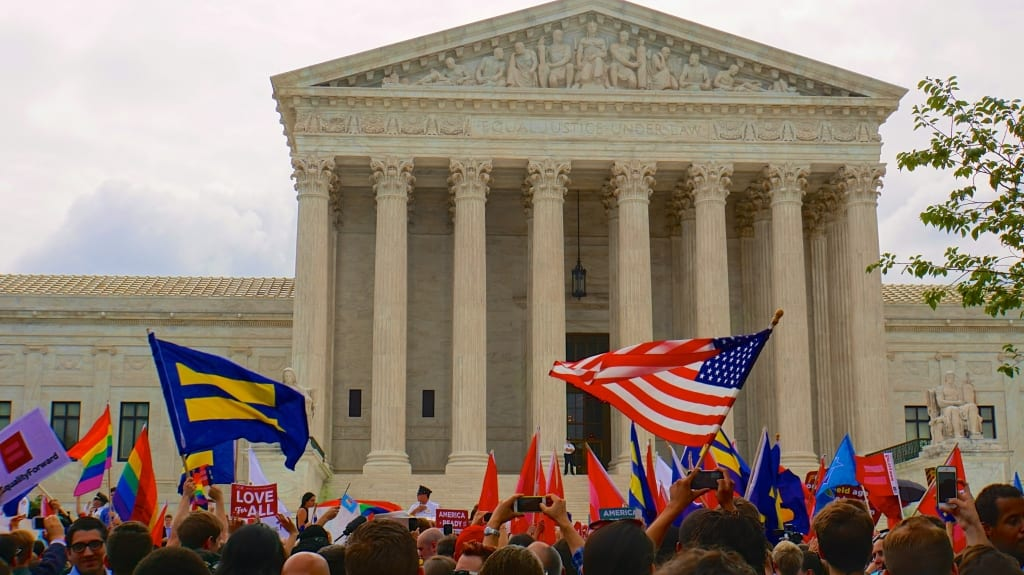 Supreme Court of the United States ends marriage discrimination