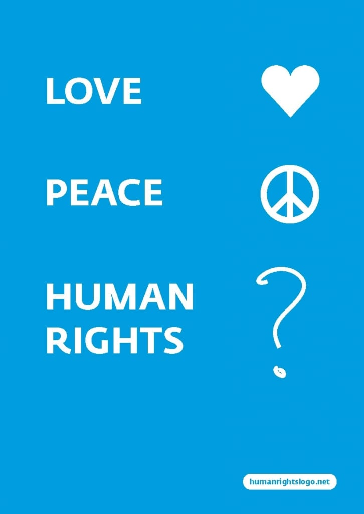 love peace human rights